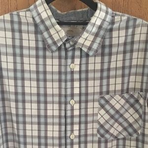 WEATHERPROOF VINTAGE SS BUTTON UP CASUAL SZ LARGE